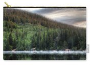Fog On Bear Lake Carry-all Pouch