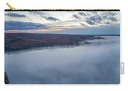 Fog On Goose Lake Carry-all Pouch