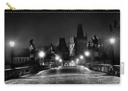 Fog On The Charles Bridge #2 - Prague Carry-all Pouch