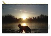 Fog Over Mississippi River Carry-all Pouch