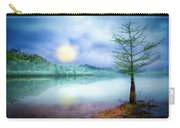 Fog Over The Lake Carry-all Pouch