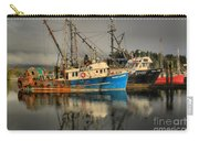 Fog Over Ucluelet Fishing Port Carry-all Pouch
