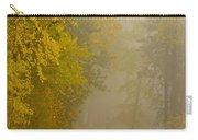 Foggy Autumn Morn Carry-all Pouch