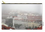 Foggy Day At Lisbon. Portugal Carry-all Pouch