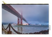 Foggy Day At The Golden Gate Bridge Carry-all Pouch