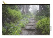 Foggy Forest Path Carry-all Pouch