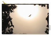 Foggy Heron Flight Carry-all Pouch