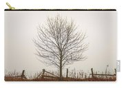 Foggy Lone Tree Hill Carry-all Pouch