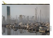 Foggy Marina Morning 2 Carry-all Pouch