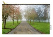 Foggy Morning At The Park Carry-all Pouch