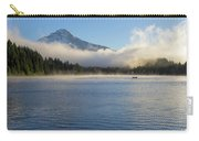 Foggy Morning At Trillium Lake Carry-all Pouch