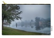 Foggy Morning In Alva Florida Carry-all Pouch