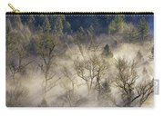 Foggy Morning In Sandy River Valley Carry-all Pouch