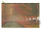Foggy Morning On Cloudland Road Carry-all Pouch