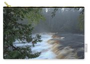 Foggy Morning On Lower Tahquamenon Falls Carry-all Pouch