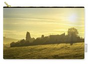 Foggy Morning Over Kennet Village Carry-all Pouch