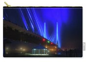 Foggy Night At The Indian River Bridge Carry-all Pouch
