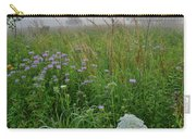 Foggy Prairie In Glacial Park In Mchenry County Carry-all Pouch