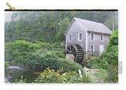Foggy Stony Brook Grist Mill Cape Cod Carry-all Pouch