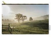 Foggy Sun Rise Carry-all Pouch