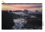 Foggy Sunrise At Chasewater Carry-all Pouch