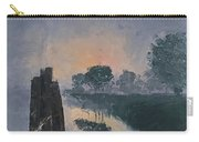 Foggy Sunrise At The Locks Carry-all Pouch