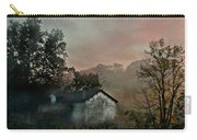 Foggy Sunrise In The Mountains Carry-all Pouch