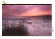 Foggy Sunset At Singing Sands Carry-all Pouch