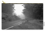 foggy way  BW Carry-all Pouch