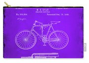 Folding Bycycle Patent Drawing 1e Carry-all Pouch