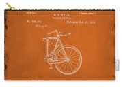 Folding Bycycle Patent Drawing 2e Carry-all Pouch