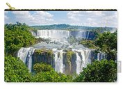 Foliage In And Around Waterfalls In Iguazu Falls National Park-brazil  Carry-all Pouch
