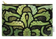 Foliage Pattern Carry-all Pouch