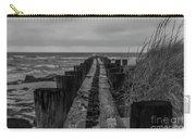 Folly Beach Anti Erosion Pier Carry-all Pouch