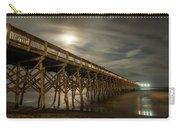 Folly Beach Pier At Full Moon Carry-all Pouch