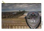 Folly Beach Pier Carry-all Pouch