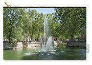 Fontaine De Nimes Carry-all Pouch