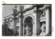 Fontana Di Trevi Rome, Italy - Bw Carry-all Pouch