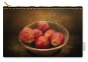 Food - Apples - A Bowl Of Apples  Carry-all Pouch
