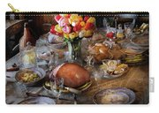 Food - Easter Dinner Carry-all Pouch by Mike Savad