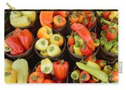 Food - Peppers Carry-all Pouch by Paul Ward