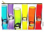 Food Coloring Ensemble-rainbow Theme Carry-all Pouch