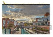 Foot Bridge At Gas Street Basin  Birmingham Carry-all Pouch