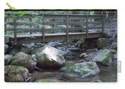 Foot Bridge Over Notch Brook Carry-all Pouch