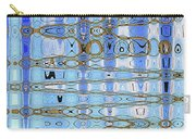 Foot Bridge Over Tempe Town Lake Abstract Carry-all Pouch