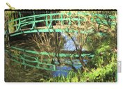 Foot Bridge Reflections In Monet's Garden Carry-all Pouch