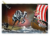 Football Derby Rams Against Doncaster Vikings Carry-all Pouch