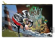 Football Derby Rams Against Plymouth Pilgrims Carry-all Pouch
