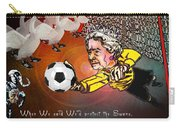 Football Derby Rams Against Swansea Swans Carry-all Pouch