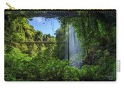 Footbridge And Crystal Falls  In The Rainforest Of Dorrigo In Australia Carry-all Pouch